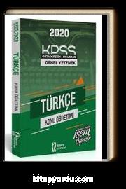 2020 KPSS Genel Yetenek Ortaöğretim Ön Lisans Türkçe Konu Öğretimi