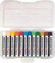 Eberhard-Faber Yağlı Pastel 12 Renk Plastik Kutu