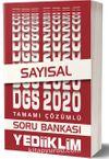 2020 DGS Sayısal Tamamı Çözümlü Soru Bankası