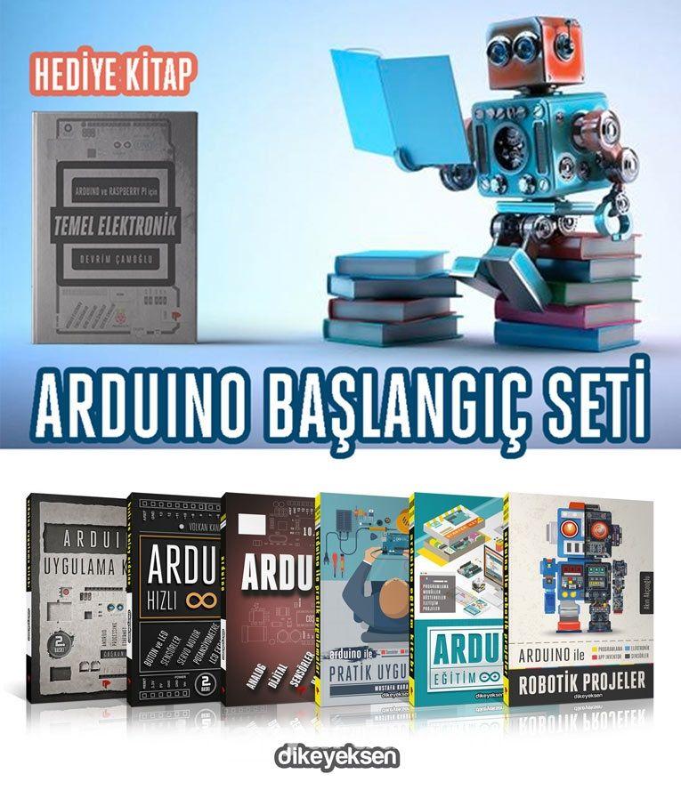 Arduino Başlangıç Seti (7 Kitap 6+1) - Devrim Çamoğlu pdf epub