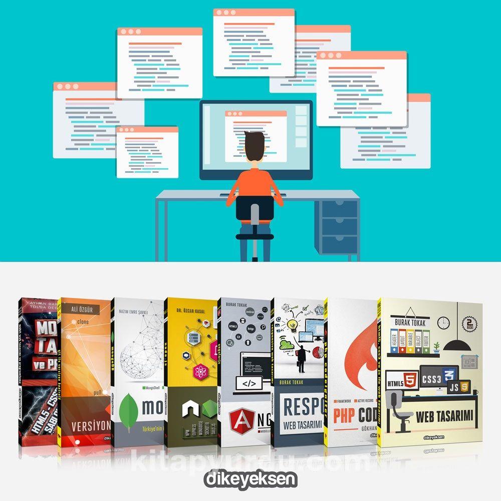 Web Programlama Eğitim Seti 2 (8 Kitap) - Kollektif pdf epub