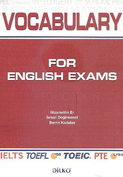 Vocabulary For English Exams