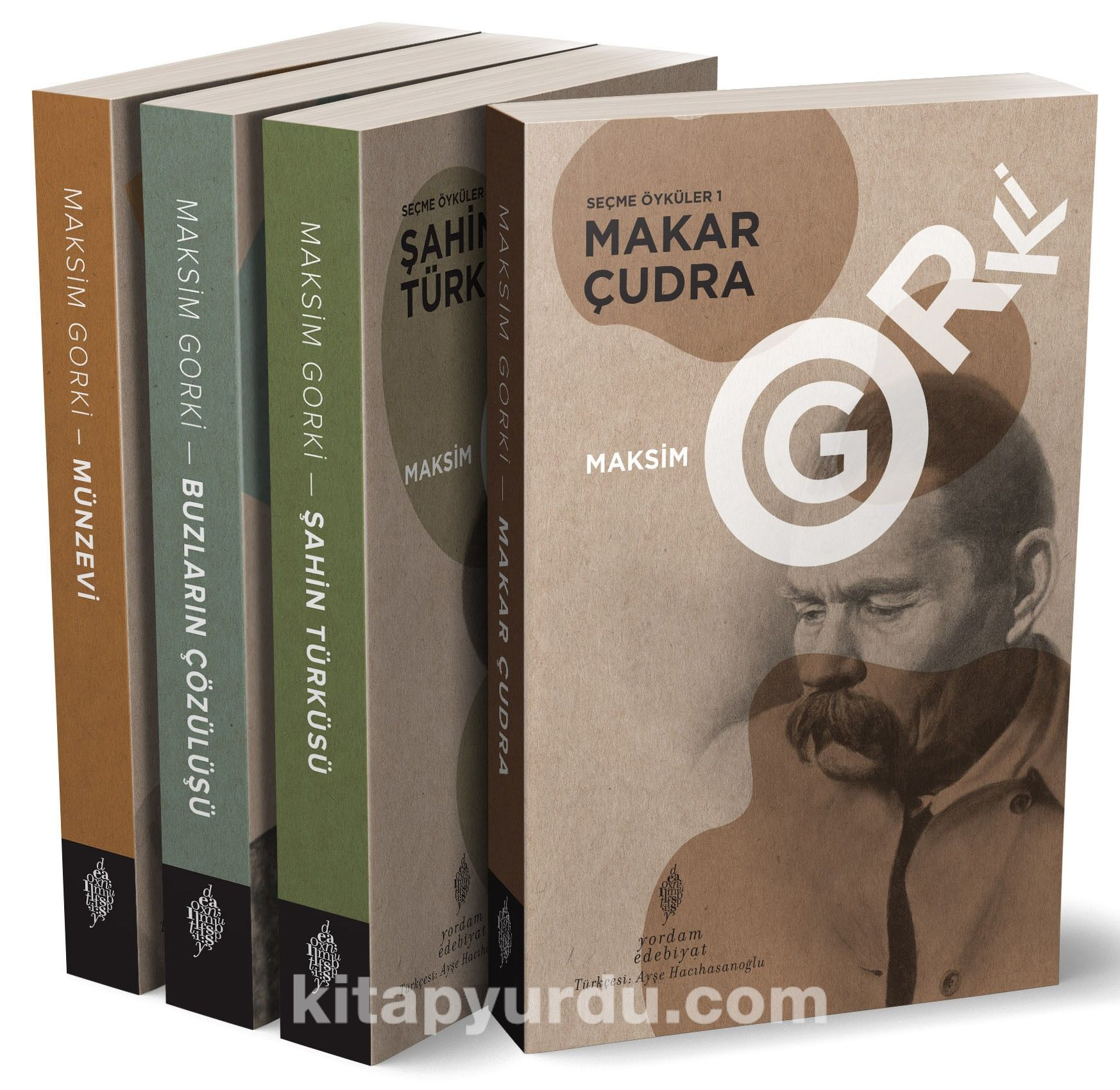 Gorki Seçme Öyküler (4 Cilt Takım) - Maksim Gorki pdf epub