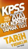 2020 KPSS Genel Kültür Tarih Çek Kopart Yaprak Test