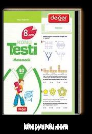 8.Sınıf Konu Testi Matematik (40 Adet)