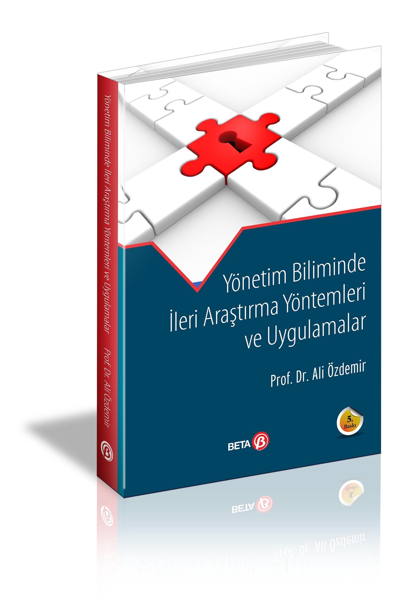 Yönetim Biliminde İleri Araştırma Yöntemleri ve Uygulamalar - Ali Özdemir pdf epub