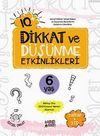 IQ+ Dikkat ve Düşünme Etkinlikleri (6 Yaş 3 Kitap + 3 cd)