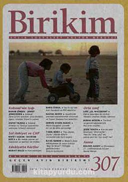 Birikim / Sayı:307 Kasım Yıl:2014 / Aylık Sosyalist Kültür Dergisi