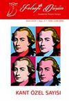 Felsefi Düşün Akademik Felsefe Dergisi Sayı:3 Kant Özel Sayısı