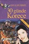 30 Günde Korece (Kitap+3Cd)