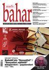 Berfin Bahar Aylık Kültür Sanat ve Edebiyat Dergisi Kasım 2014 Sayı:201