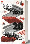 2020 KPSS Genel Yetenek Matematik Tamamı Çözümlü 20 Deneme
