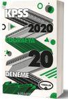 2020 KPSS Genel Kültür Coğrafya Tamamı Çözümlü 20 Deneme