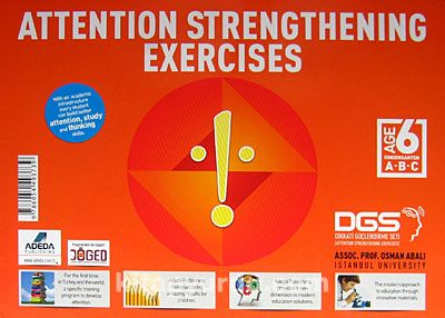 Attention Strengthening Exercises (6 Age) (3 Kitap)