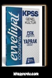 2020 Evveliyat KPSS Genel Kültür Coğrafya Çek Kopar Yaprak Test