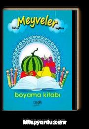 Meyveler Boyama Kitabı Türkçe Ingilizce Kitapyurducom
