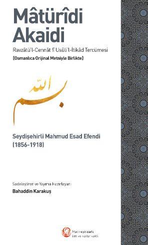 Matüridi Akaidi - Mahmud Esad Efendi pdf epub