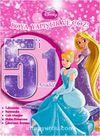 Disney Prensesler 5'i 1 Arada Boya Yapıştır Çöz
