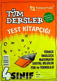 4. Sınıf Tüm Dersler Test KitapçığıMasallı Yaprak Testler -  pdf epub