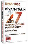 2020 KPSS Divan-ı Tarih Tamamı Çözümlü 27 Deneme Sınavı
