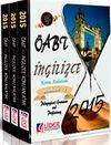2014-2015 ÖABT İngilizce Modüler Konu Anlatım (3 Kitap) (OA-214-ENG)