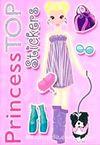 Princess Top Stickers (Pembe)