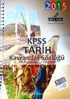 2015 KPSS Tarih Kavramlar Sözlüğü