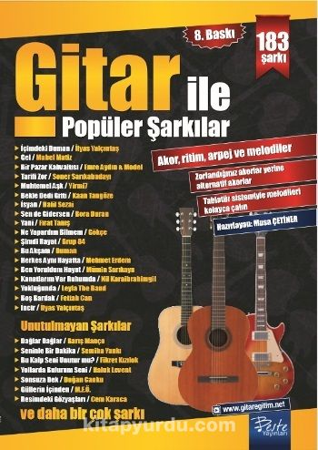 Gitar İle Popüler Şarkılar - Musa Çetiner pdf epub