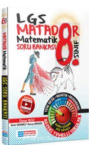 8. Sınıf LGS Matematik Matador Video Çözümlü Soru Bankası