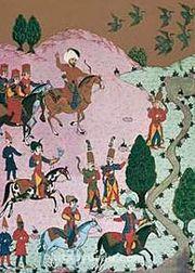 Minyatür / Osman Nakkaş (NKO 006-70x100) (Çerçevesiz)