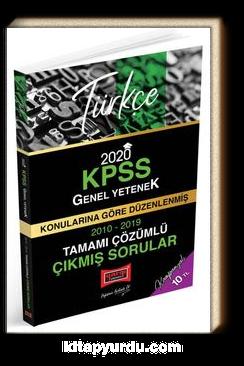 2020 KPSS Türkçe Konularına Göre Düzenlenmiş Tamamı Çözümlü Çıkmış Sorular